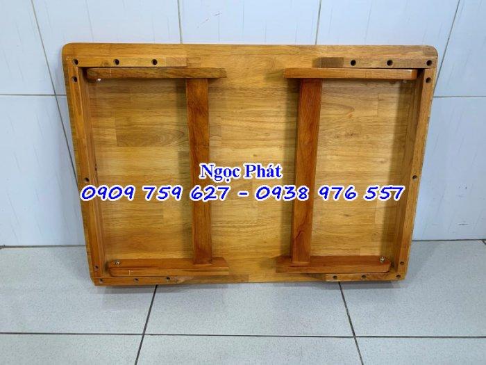 Bàn gỗ gấp gọn - Bàn học sinh - Bàn ngồi bệt - NGỌC PHÁT3