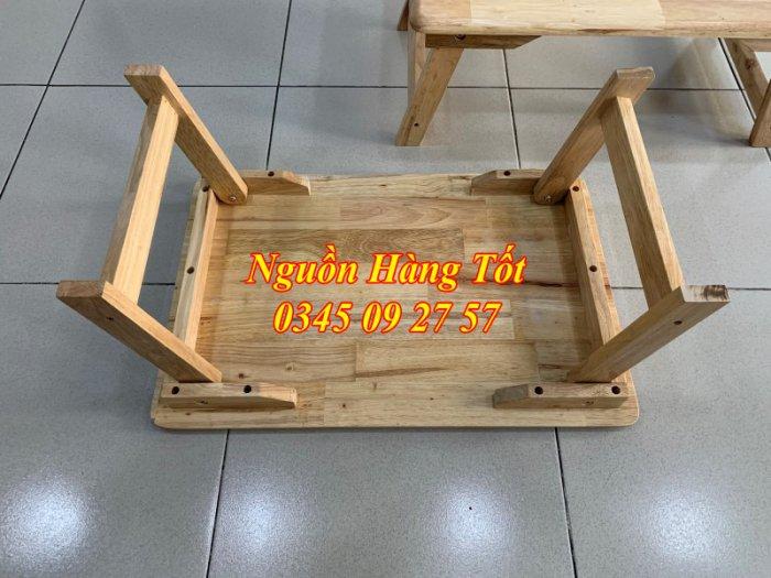 Bàn gỗ gấp gọn - Bàn học sinh - Bàn ngồi bệt - NGỌC PHÁT1