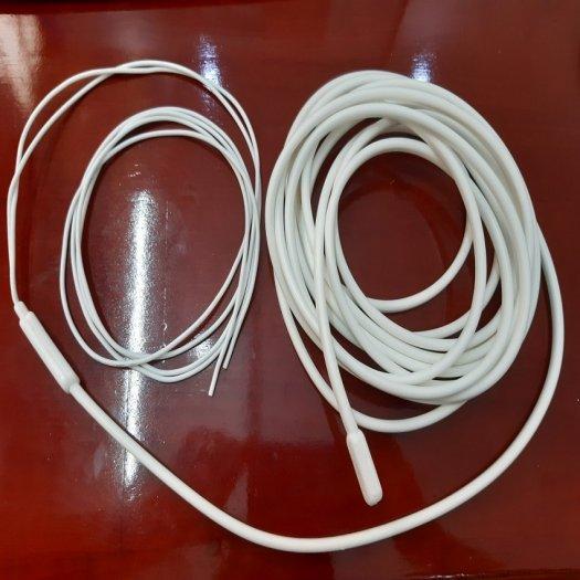 Điện trở Dây điện trở xả ống silicone, màu trắng, tròn, dài 5m 220V-200W1