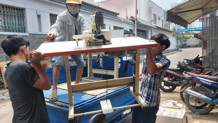 Máy Vắt Sổ  Siruba Nhật Bãi giá rẻ TPHCM 2 Kim 4 chỉ