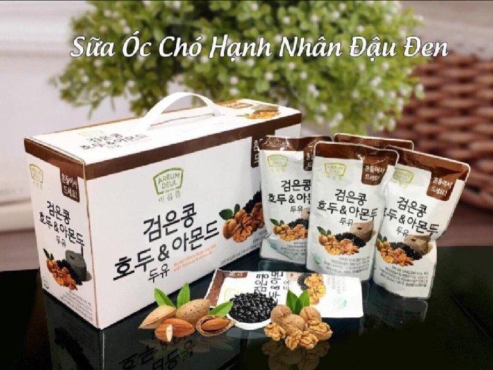Sữa óc chó hạnh nhân đậu đen Hàn Quốc0