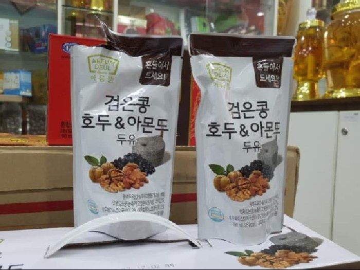 Sữa óc chó hạnh nhân đậu đen Hàn Quốc2