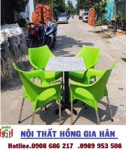 Ghế nhựa cafe giá rẻ nhất HGH .03
