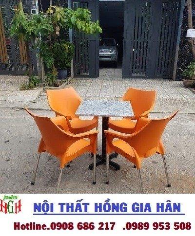 Ghế nhựa cafe giá rẻ nhất HGH .02