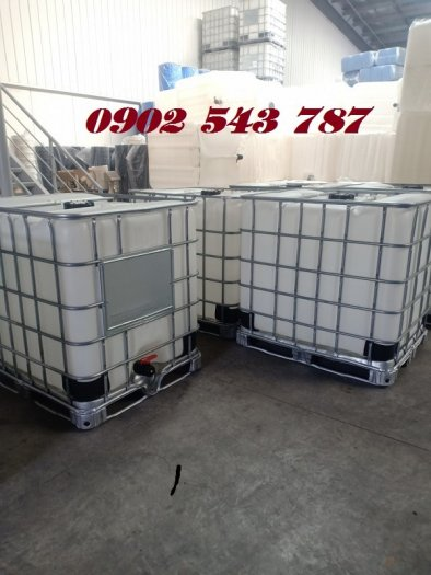 Tank nhựa IBC 1000 lít hàng combo chất lượng tốt3