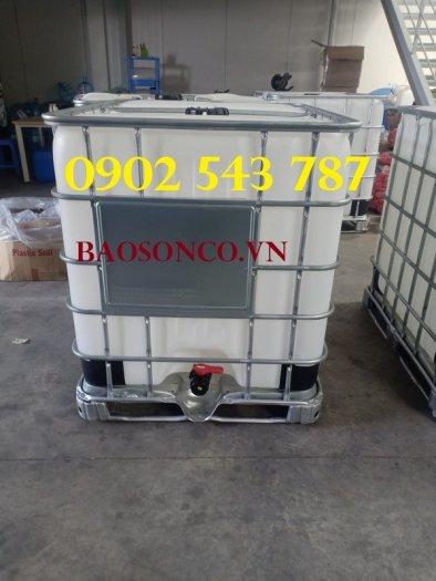 Tank nhựa IBC 1000 lít hàng combo chất lượng tốt2