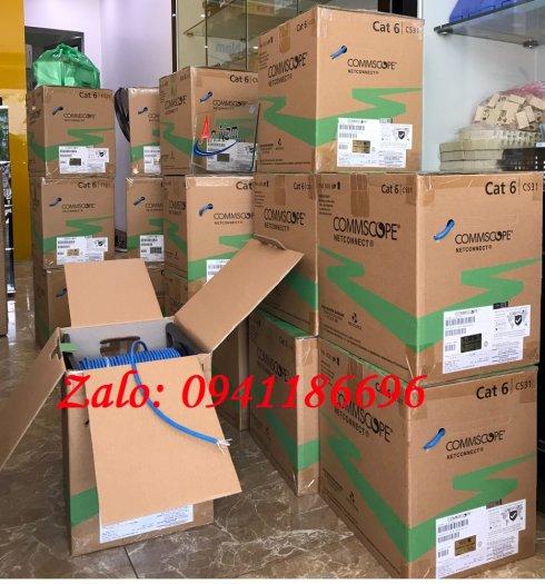 Cáp mạng Commscope Cat6 UTP mã 1427254-62