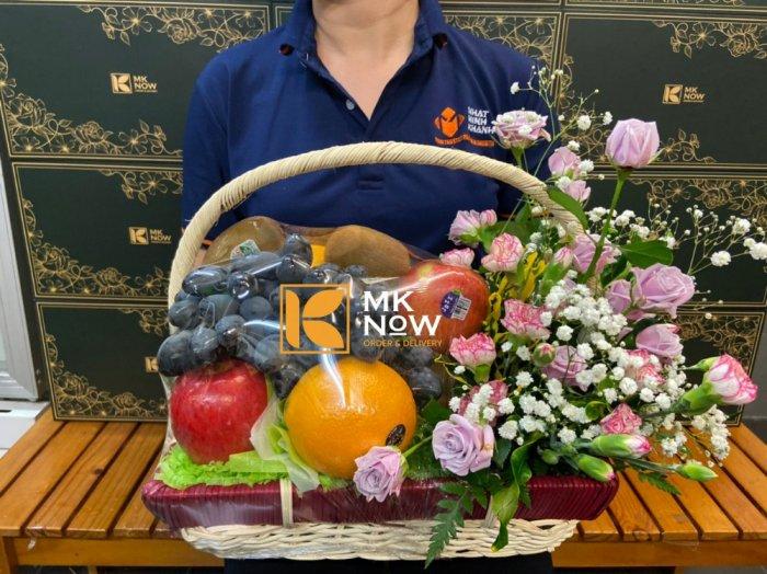 Giỏ trái cây và hoa tươi - FSNK2230