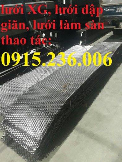 Lưới XG44, lưới làm sàn, lưới dập giãn, lưới trang trí mới 100%0