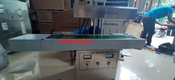 Máy dán màng siu tự động, máy ép màng siu miệng hủ liên tục LX6000A0