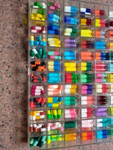 Cung cấp vỏ nang rỗng nhiều màu giá tốt, vỏ thuốc con nhộng2