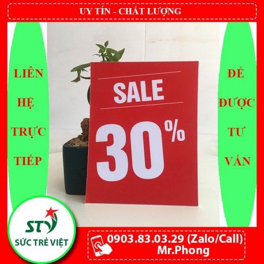 Bảng sale, bảng giảm giá, bảng khuyến mãi 4.90