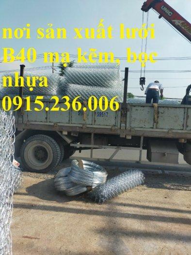 Lưới B40, Lưới B40 bọc nhựa, lưới B40 mạ kẽm mới 100%4