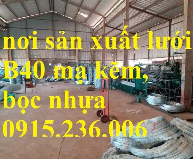Lưới B40, Lưới B40 bọc nhựa, lưới B40 mạ kẽm mới 100%3