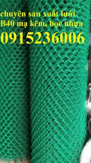 Lưới B40, Lưới B40 bọc nhựa, lưới B40 mạ kẽm mới 100%2