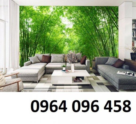 Tranh 3d - tranh gạch 3d phòng khách - SK8510