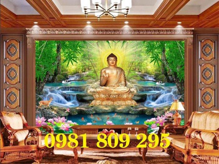 Tranh Phật - gạch tranh 3d ốp tường4