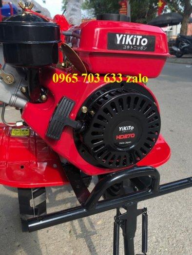 Máy xới đất chạy dầu Yikito HD270 Nhật Bản, máy dầu có thiết kế mới mẻ, độc đáo.1