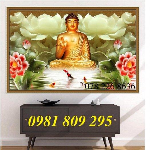 Tranh Phật - gạch tranh 3d ốp tường1