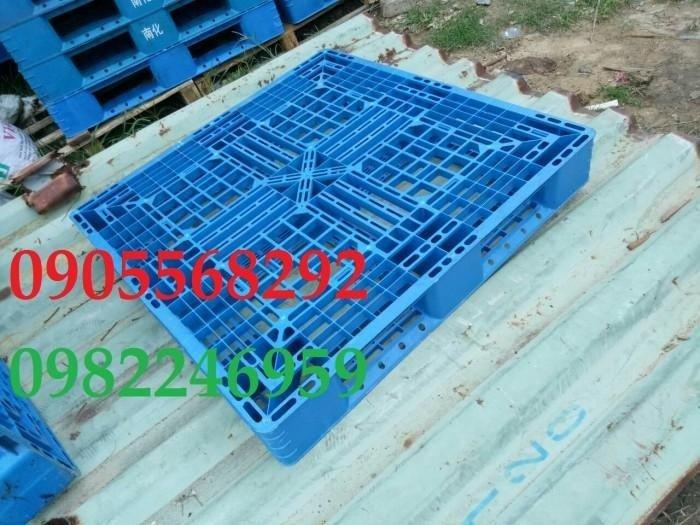 Pallet nhựa Đài loan 1100x1100x150mm2