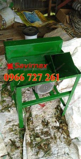 Savimax cung cấp máy băm cỏ voi, cà leo cho trâu bò dê0