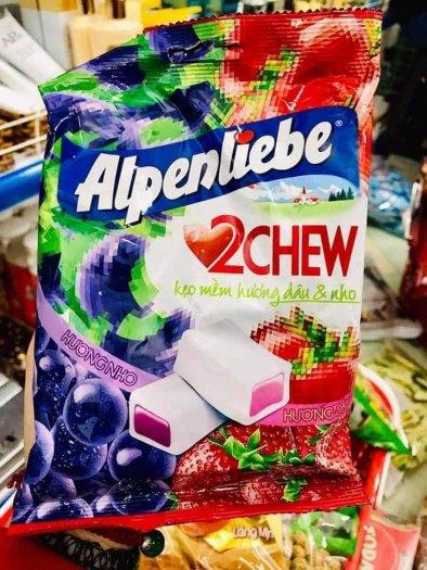 Kẹo Alpenliebe vị dâu nho0