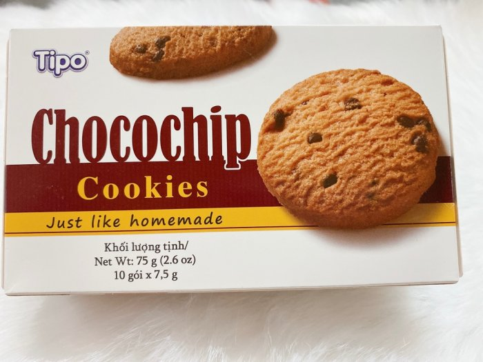 Bánh quy Tipo Chocochip Cookies1