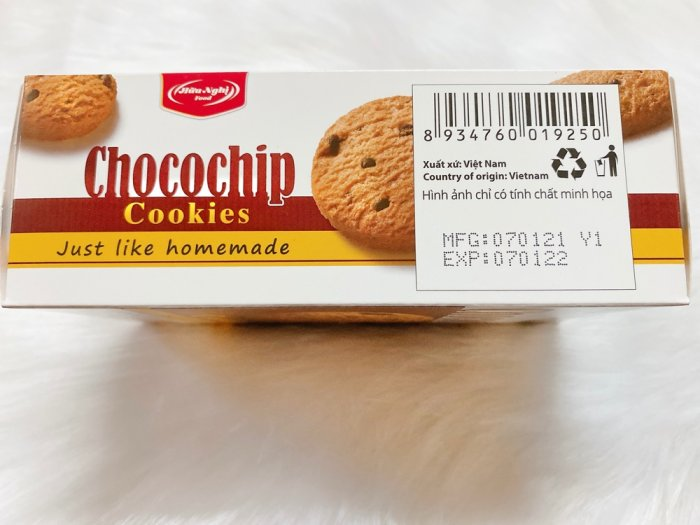 Bánh quy Tipo Chocochip Cookies3