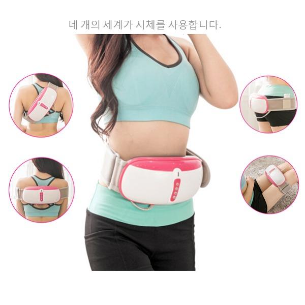 Đai massage Ayosun Hàn Quốc: máy giảm béo và giảm đau hai trong một3