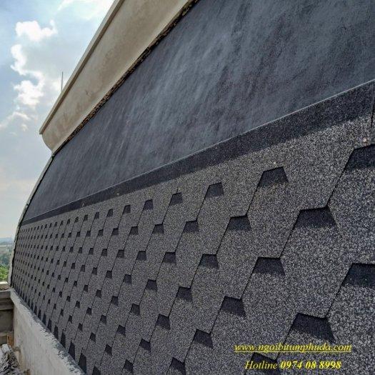 Tấm lợp bitum giả đá màu BTM shingles nhập khẩu thổ nhĩ kỳ7