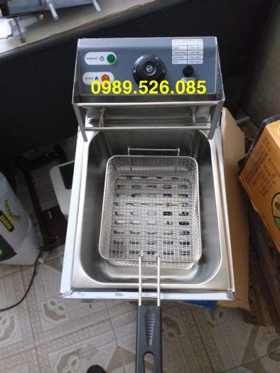 Bếp chiên ga điện1