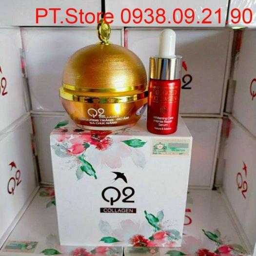Kem Q2 collagen Vàng VIP 20202