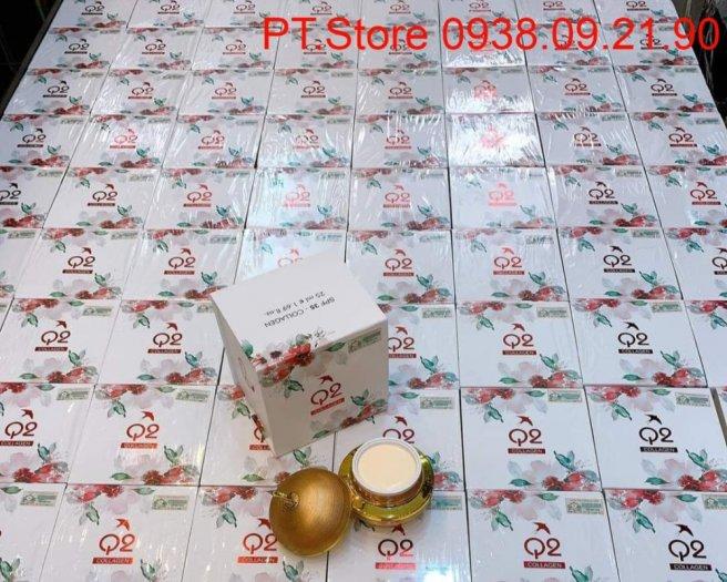 Kem dưỡng trắng da đa chức năng Q2 Collagen Vàng4