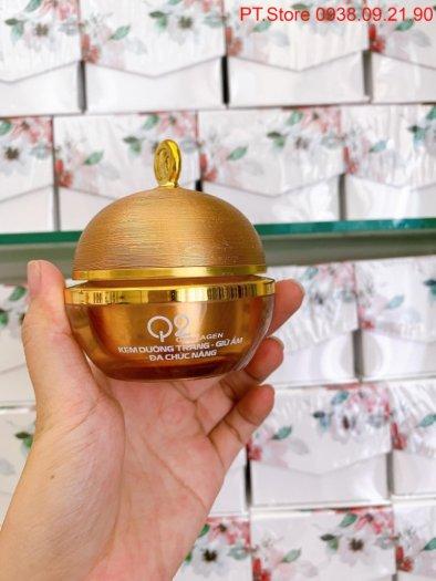 Kem dưỡng trắng da Q2 Collagen vàng1