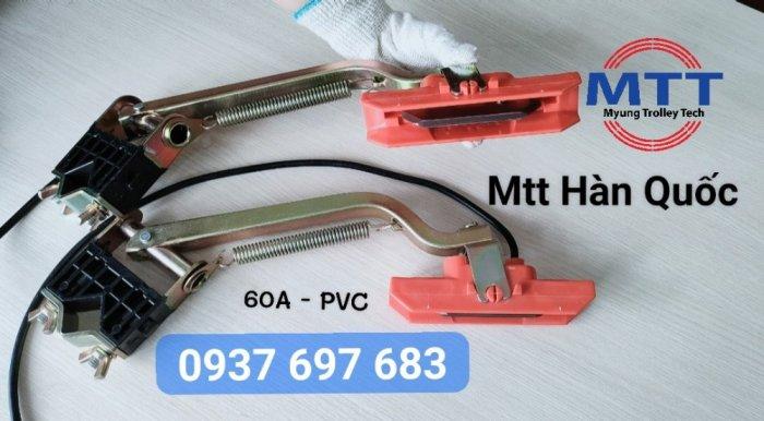Chổi tiếp điện cầu trục 60a pvc hãng myungshin5