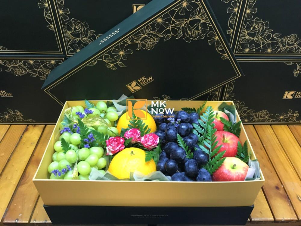 Hộp hoa quả đẹp - Hộp quà 8/3 ngọt ngào - FSNK2290
