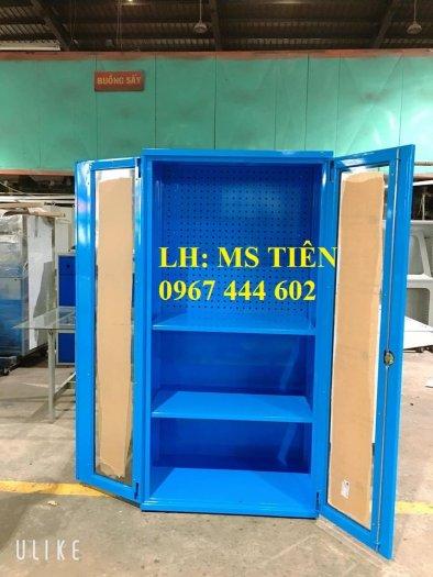 Tủ chứa dụng cụ vật tư có vách treo dụng cụ1