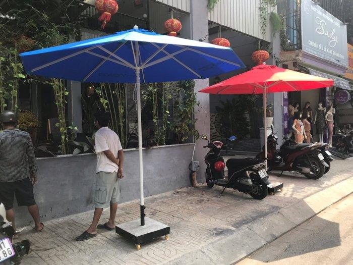 Dù cafe che nắng mưa giá tốt-nội thất Nguyễn hoàng hcm1