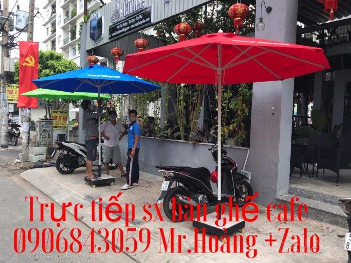 Dù cafe che nắng mưa giá tốt-nội thất Nguyễn hoàng hcm0