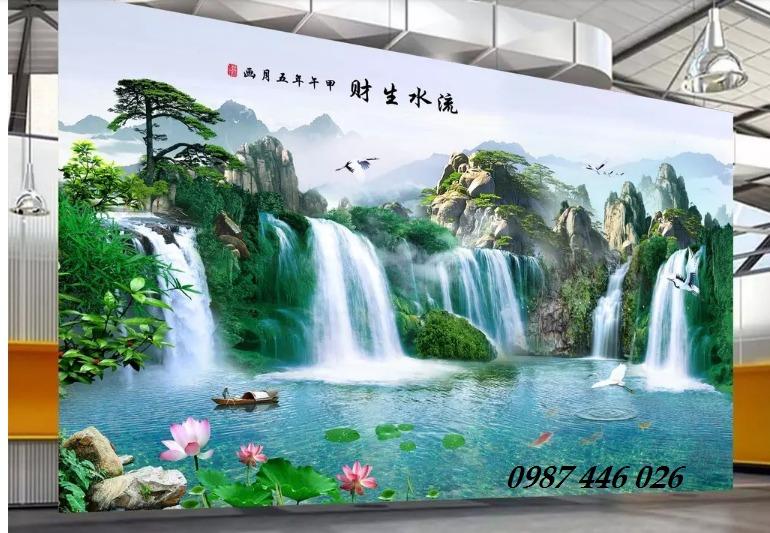 Tranh gạch men ốp tường 3d, tranh trang trí, gach hoa văn HP70225