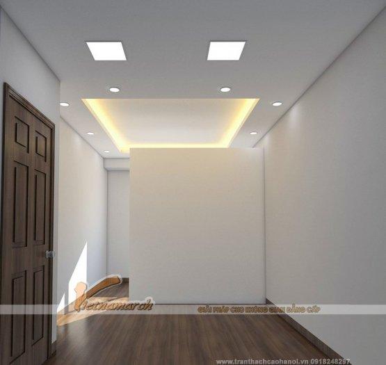 Đèn Led Panel âm trần vuông 6w0