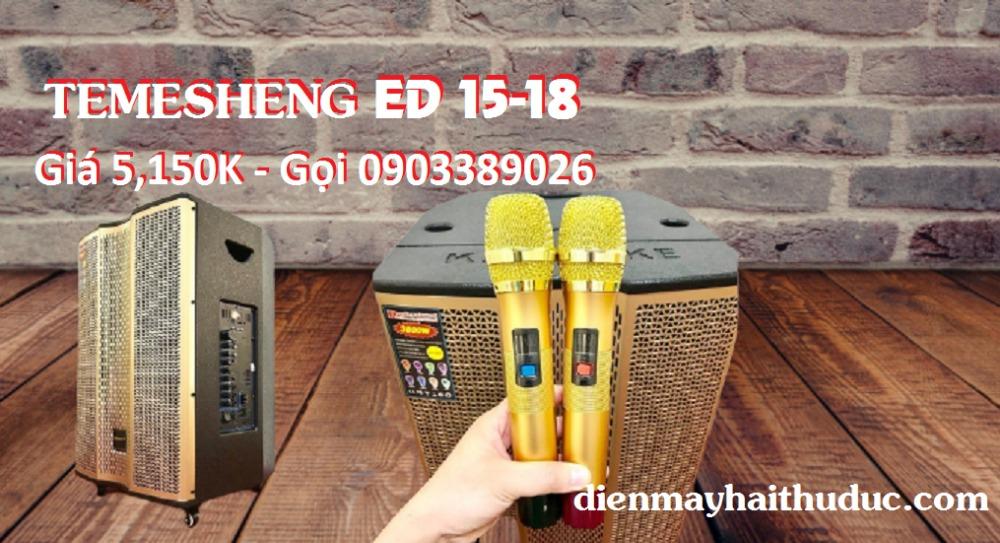 Loa kéo Temeisheng ED 15-18 công suất đạt 500W5