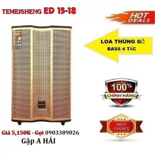 Loa kéo Temeisheng ED 15-18 công suất đạt 500W4