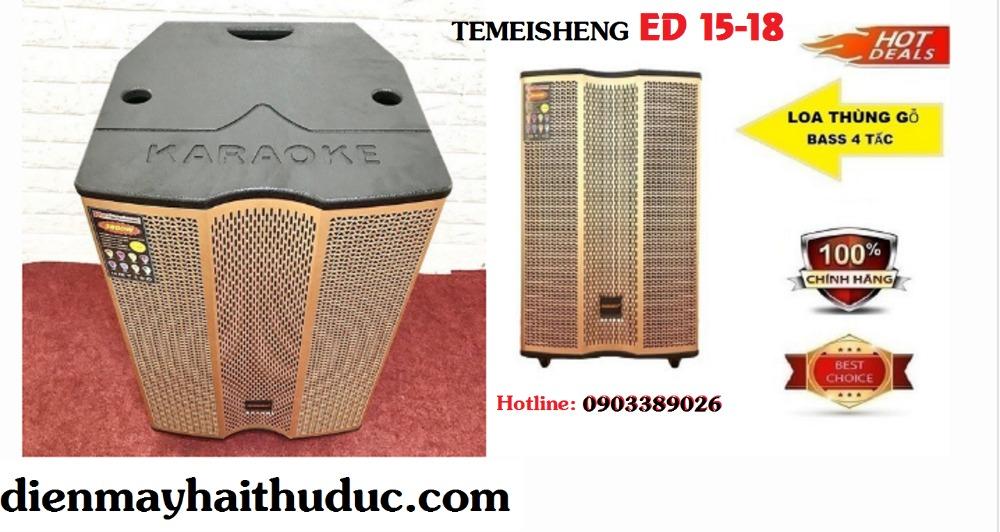 Loa kéo Temeisheng ED 15-18 công suất đạt 500W3
