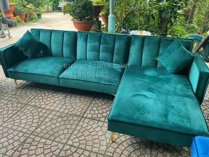 Sofa góc, sofa hình chữ L sẽ làm sáng bừng không gian phòng khách nhà bạn2