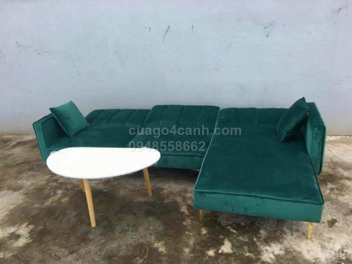 Sofa góc, sofa hình chữ L sẽ làm sáng bừng không gian phòng khách nhà bạn0