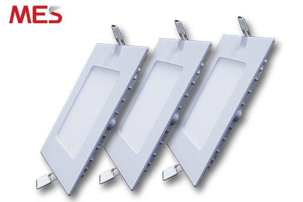 Đèn Led Panel âm trần 12w vuông1