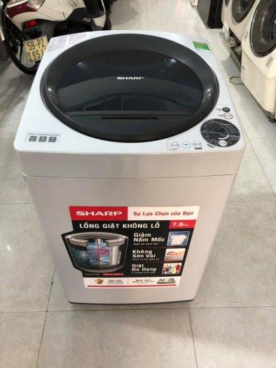 Máy Giặt Shap 8kg Mới 98%1