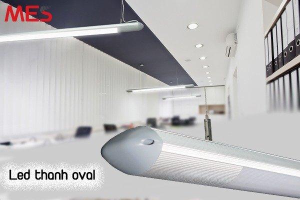 Đèn Led Thanh Treo Oval Giá Gốc - MES Lighting sale giá sốc0