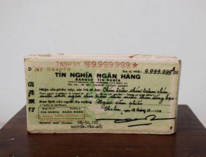 Gạt tàn ngân hàng tín nghĩa trước 1975 hàng chuẩn xưa số đẹp4